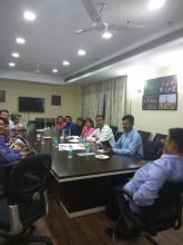 Meeting for Engg meet by AECian@NCR at Mizoram House